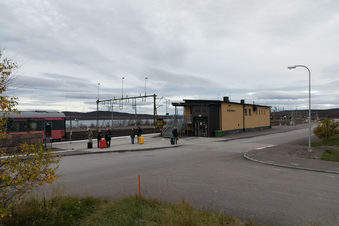 Kirunas tågstation
