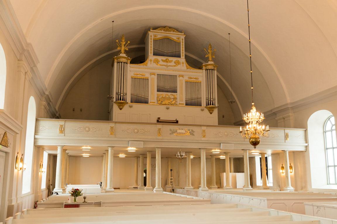 Kyrkorgel i Järvsö kyrka