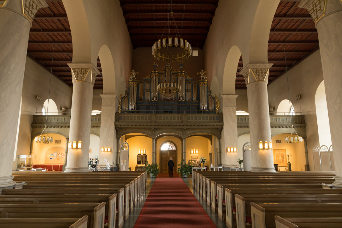 Kyrkorgel i Färila kyrka