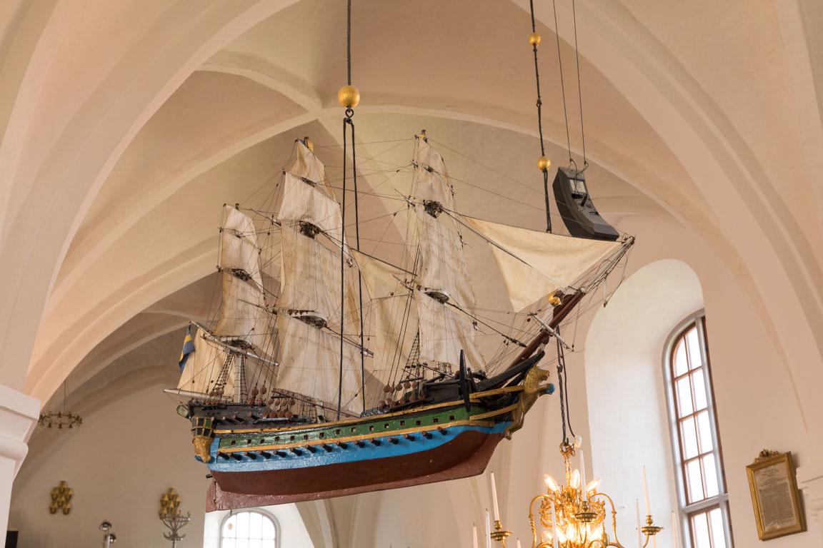 Tillbedjande av sjöfararnas skyddshelgon?