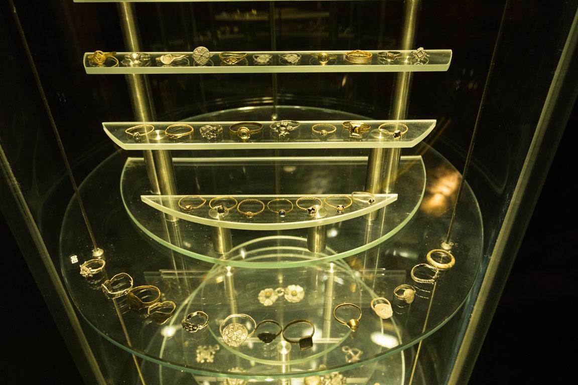 Smycken som hittats