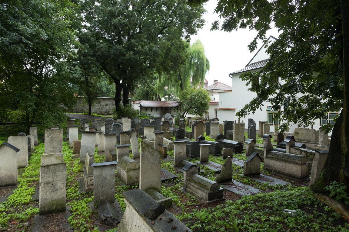 Kyrkogård vid Remuh Synagogue