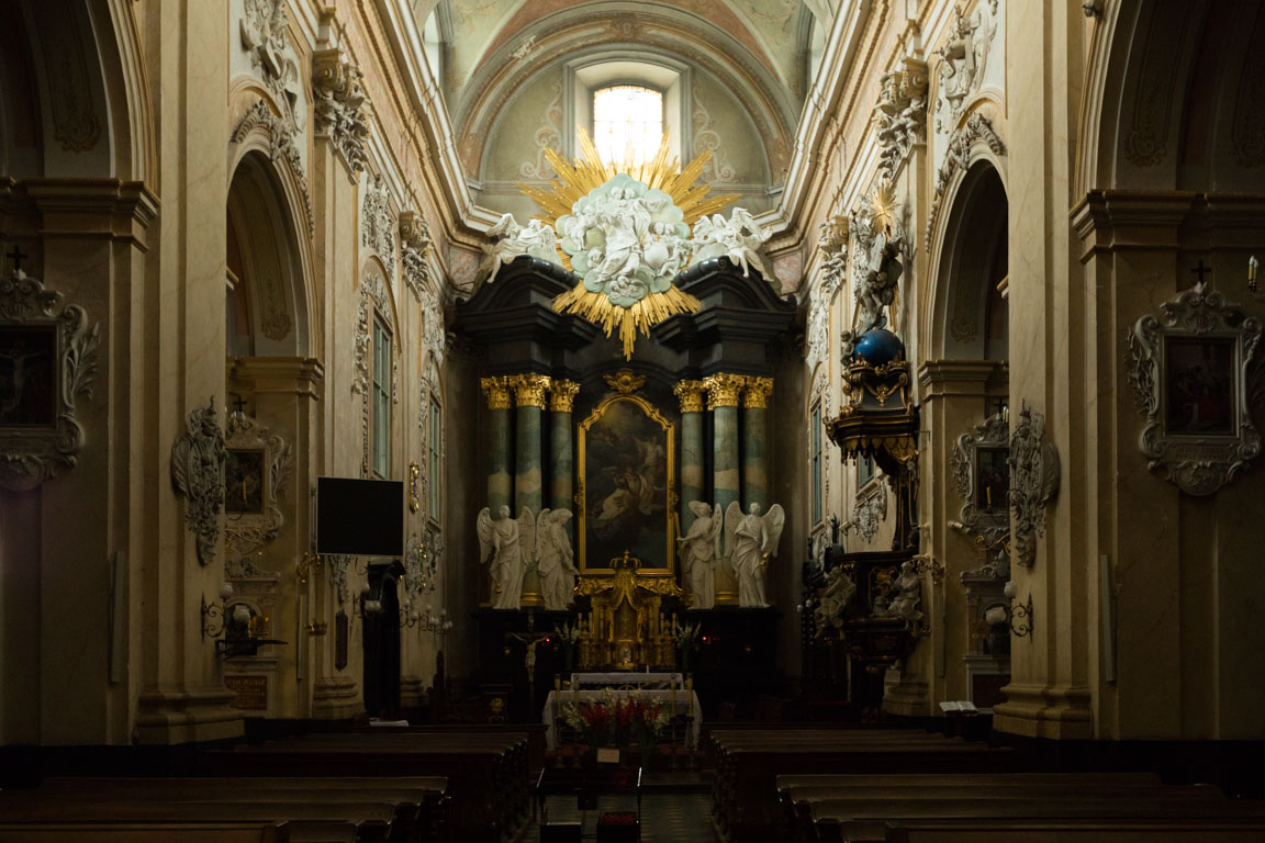 Altare i Basilica of St. Michael the Archangel