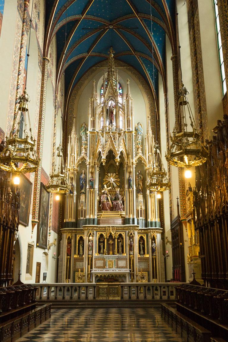 Inne i Holy Trinity Church
