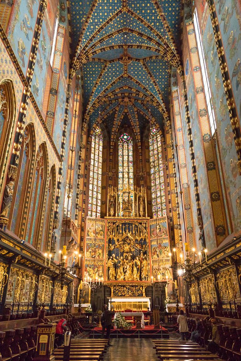 Stora altaret i St. Mary's Basilica